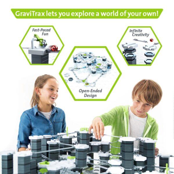 GraviTrax Starter Kit - Gioco di società Ravensburger ALTRI Unisex 12+ Anni, 5-8 Anni, 8-12 Anni RAVENSBURGER CLASSIC