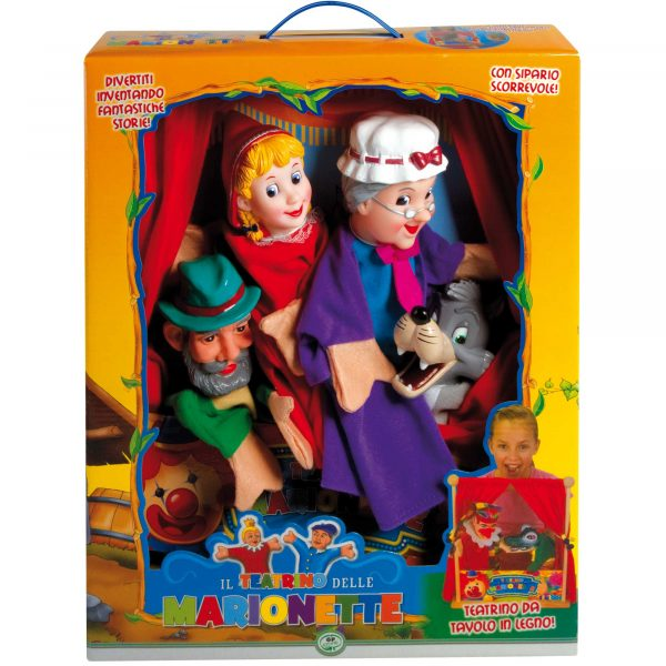WOOD'N PLAY Teatrino in legno con marionette ALTRI Unisex 12-36 Mesi, 3-5 Anni, 5-8 Anni, 8-12 Anni WOOD 'N' PLAY
