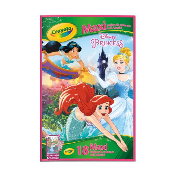 Maxi Pagine con adesivi assortite Frozen, Principesse, Cars CRAYOLA Unisex 12-36 Mesi, 3-5 Anni, 5-8 Anni ALTRI