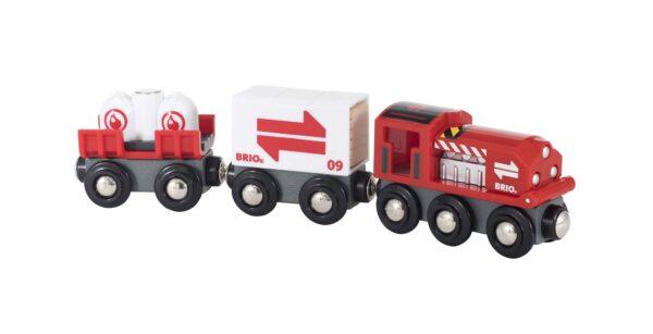 BRIO Treno merci rosso - Brio Trenini, Vagoni E Altri Veicoli - Toys Center BRIO TRENINI, VAGONI E ALTRI VEICOLI Unisex 12-36 Mesi, 3-5 Anni, 5-8 Anni, 8-12 Anni ALTRI