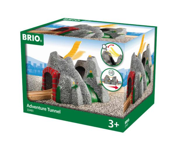BRIO tunnel avventura BRIO Unisex 12-36 Mesi, 3-4 Anni, 3-5 Anni, 5-7 Anni, 5-8 Anni ALTRI