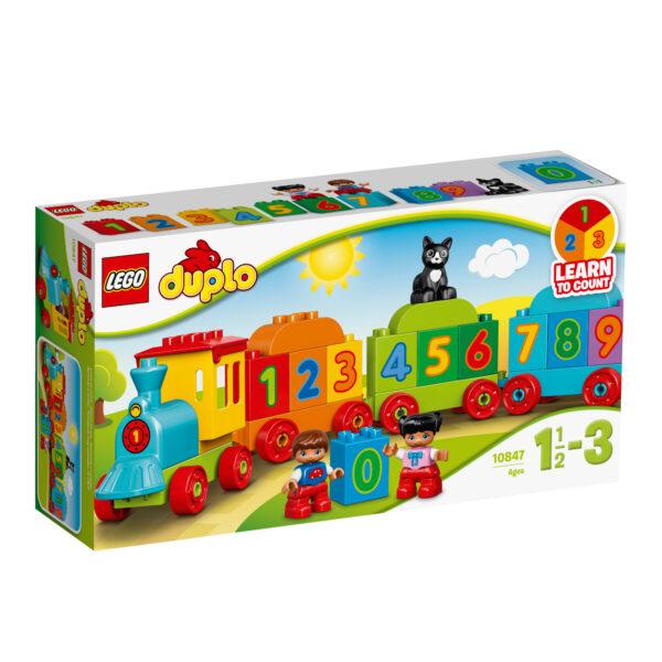 10847 - Il treno dei numeri LEGO DUPLO Unisex 0-2 Anni, 3-4 Anni ALTRI