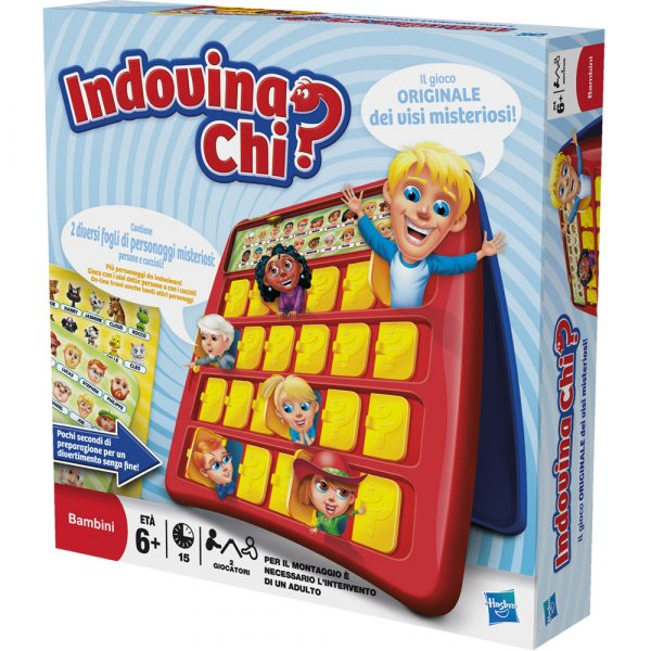 INDOVINA CHI? - Hasbro Gaming - Toys Center HASBRO GAMING Unisex 5-8 Anni ALTRI