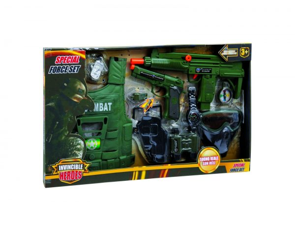INVINCIBLE HEROES Special force set TOYS CENTER Maschio 12-36 Mesi, 12+ Anni, 3-5 Anni, 5-8 Anni, 8-12 Anni INVINCIBLE HEROES