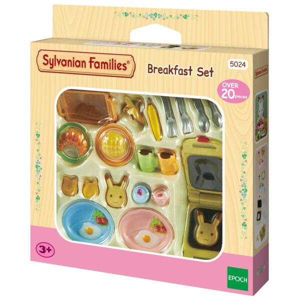 Sylvanian Families – Set prima colazione SYLVANIAN FAMILIES Femmina 12-36 Mesi, 3-4 Anni, 3-5 Anni, 5-7 Anni, 5-8 Anni, 8-12 Anni ALTRI