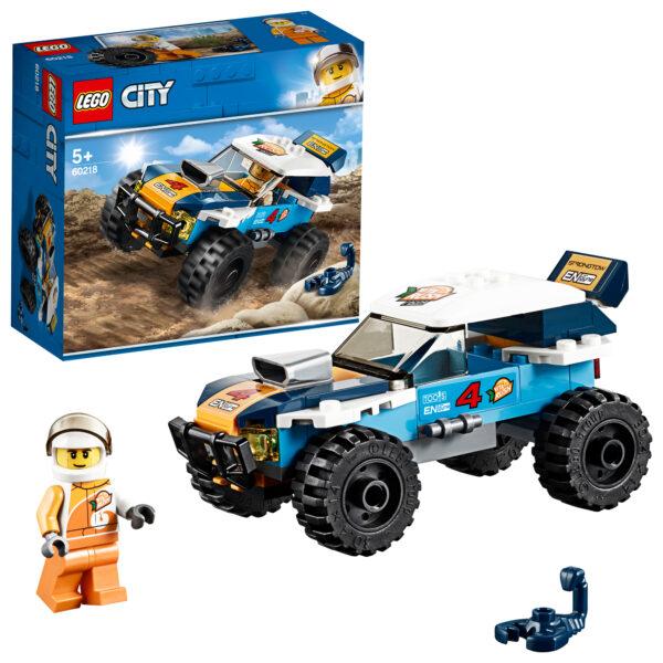 LEGO  Auto da rally del deserto - 60218 LEGO CITY Unisex 12+ Anni, 3-5 Anni, 5-8 Anni, 8-12 Anni ALTRI