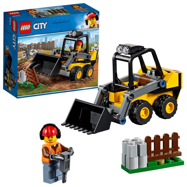 LEGO  City - Ruspa da cantiere - 60219 LEGO CITY Unisex 12+ Anni, 3-5 Anni, 5-8 Anni, 8-12 Anni ALTRI