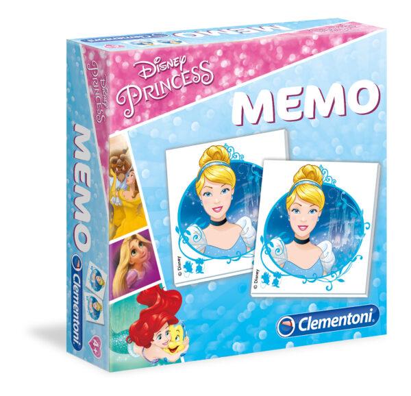 MEMO GAMES PRINCESS 2018 - CLEMENTONI - GIOCHI DA TAVOLO - Linee CLEMENTONI - GIOCHI DA TAVOLO Femmina 3-5 Anni, 5-8 Anni, 8-12 Anni PRINCIPESSE DISNEY