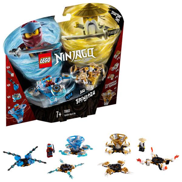 70663 - Nya e Wu Spinjitzu - Lego Ninjago - Toys Center - LEGO NINJAGO - Costruzioni