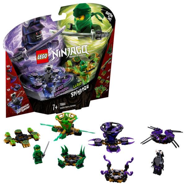 70664 - Lloyd contro Garmadon Spinjitzu - Lego Ninjago - Toys Center LEGO NINJAGO Unisex 12+ Anni, 5-8 Anni, 8-12 Anni ALTRI