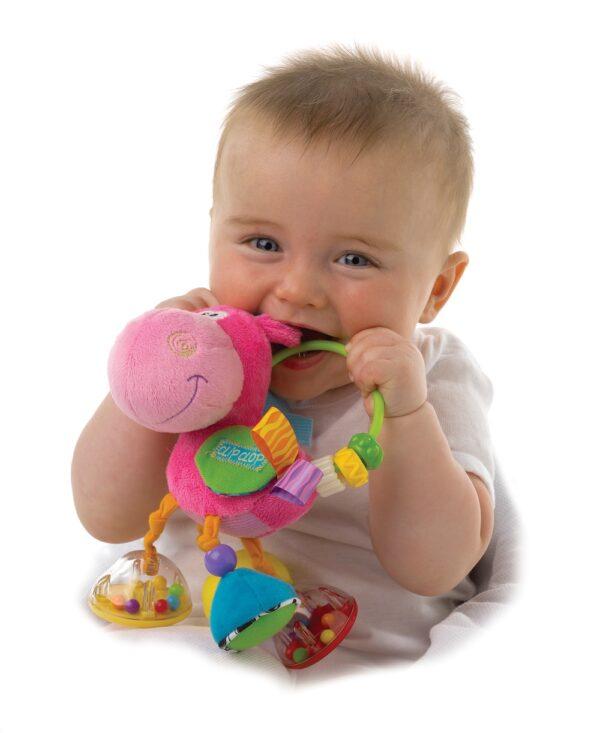 Toy Box Clopett Act Rattle Pin - PLAYGRO - Marche ALTRI Femmina 0-12 Mesi, 12-36 Mesi, 3-5 Anni ALTRO