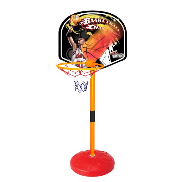 Basketball terra 150/210 cm - Giocattoli Toys Center SUN&SPORT Unisex 3-5 Anni, 5-7 Anni, 5-8 Anni, 8-12 Anni ALTRI