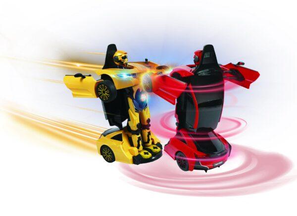 MOTOR&CO Auto robot trasformabile radiocomandata MOTOR&CO Maschio 12+ Anni, 5-8 Anni, 8-12 Anni ALTRI
