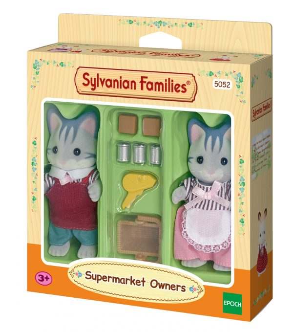Proprietari negozio - 2 personaggi - SYLVANIAN FAMILIES - Fino al -20%