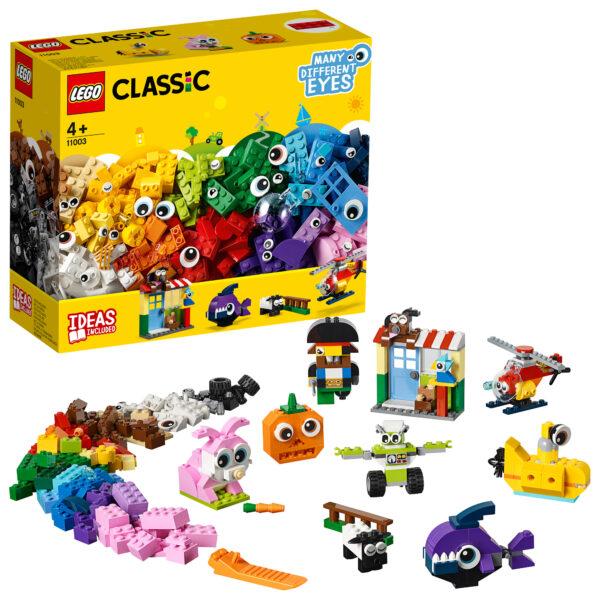 11003 - Mattoncini e occhi - Lego Classic - Toys Center LEGO CLASSIC Unisex 12+ Anni, 3-5 Anni, 5-8 Anni, 8-12 Anni ALTRI