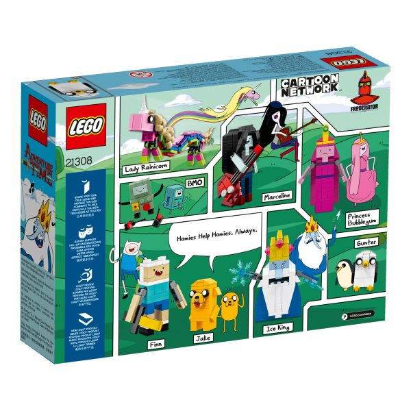 21308 - Adventure Time™ - Lego Creator Expert - Toys Center ALTRI Maschio 12+ Anni, 8-12 Anni LEGO CREATOR EXPERT