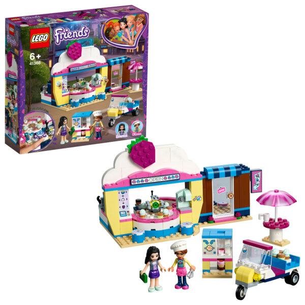 LEGO Friends  Il Cupcake Cafè di Olivia - 41366 LEGO FRIENDS Unisex 12+ Anni, 5-8 Anni, 8-12 Anni ALTRI