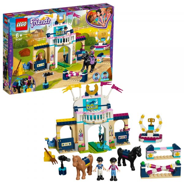 41367 - La gara di equitazione di Stephanie - Lego Friends - Toys Center - LEGO FRIENDS - Costruzioni