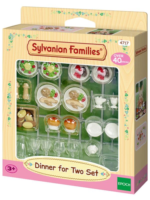 Sylvanian Families – Set cena per 2 SYLVANIAN FAMILIES Femmina 12-36 Mesi, 3-4 Anni, 3-5 Anni, 5-7 Anni, 8-12 Anni ALTRI