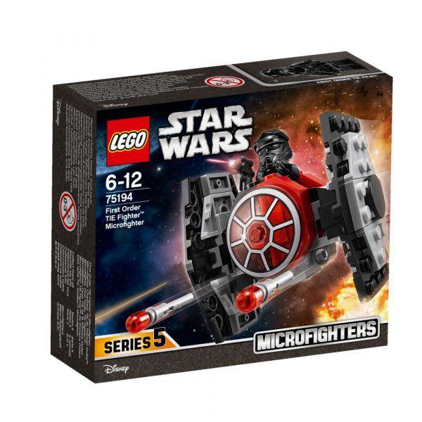 75194 - Microfighter First Order TIE Fighter™ - DISNEY - DISNEY - Marche Disney Maschio 12+ Anni, 5-8 Anni, 8-12 Anni Star Wars