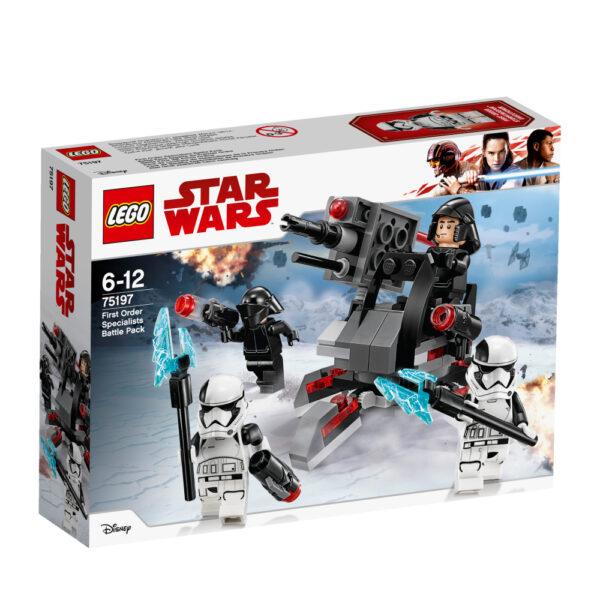 75197 - CONF Battle Pack Ep8 White planet troopers - Età Disney Maschio 12+ Anni, 5-8 Anni, 8-12 Anni Star Wars