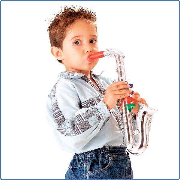 MUSIC STAR Sassofono cromato MUSICSTAR Unisex 12-36 Mesi, 3-5 Anni, 5-8 Anni ALTRI