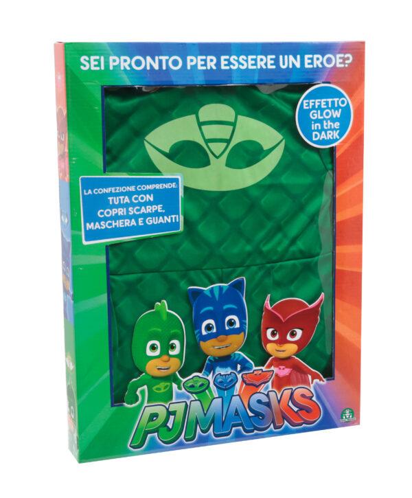 PJ Masks Costume Carnevale Geco, Taglia 3/4 anni - PJ MASKS - Fino al -20%