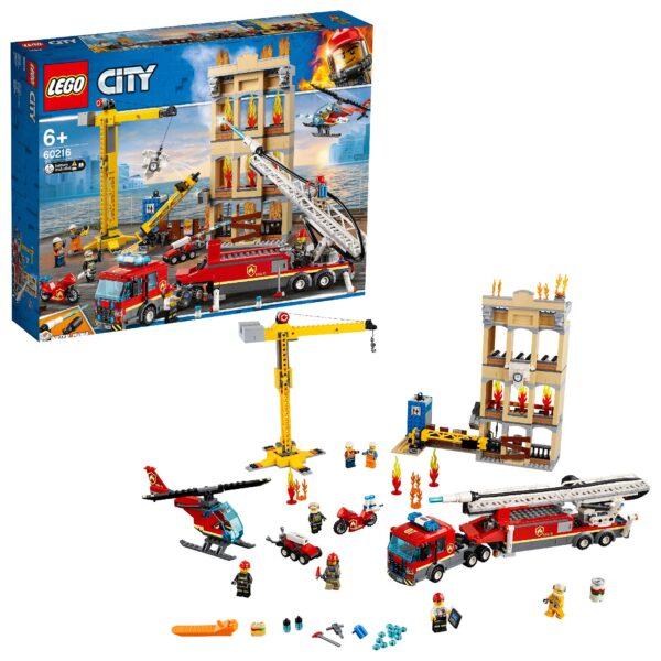 60216 - Missione antincendio in città LEGO CITY Unisex 12+ Anni, 5-8 Anni, 8-12 Anni ALTRI