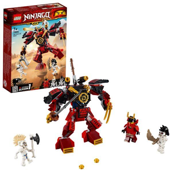 70665 - Mech Samurai - Lego Ninjago - Toys Center LEGO NINJAGO Unisex 12+ Anni, 5-8 Anni, 8-12 Anni ALTRI