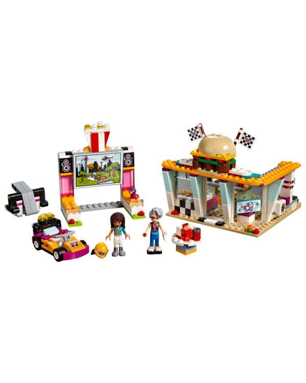 LEGO FRIENDS ALTRI LEGO 41349 - Il fast-food del go-kart Unisex 12+ Anni, 5-8 Anni, 8-12 Anni