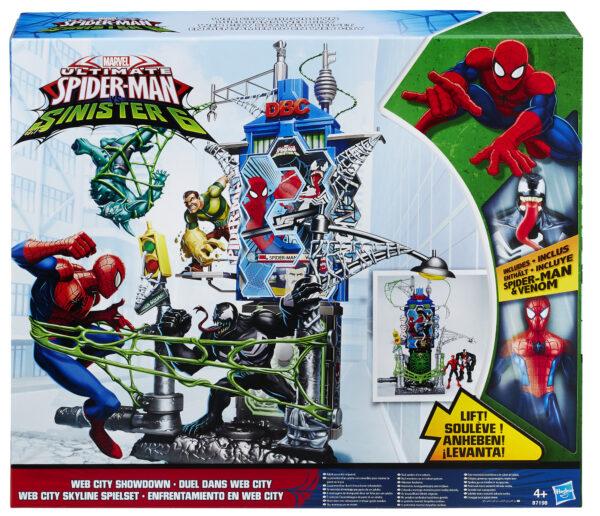 Web City Daily Batt Playset Marvel Maschio 3-4 Anni, 3-5 Anni, 5-7 Anni, 5-8 Anni, 8-12 Anni Spiderman