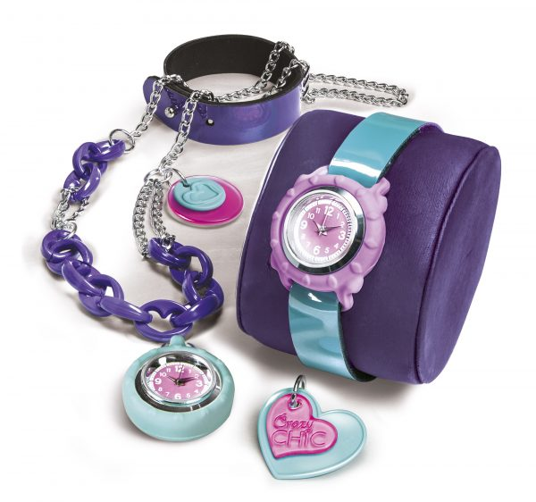 Clementoni - 15132 - Crazy Chic Crazy watch ALTRI Femmina 5-7 Anni, 8-12 Anni CRAZY CHIC