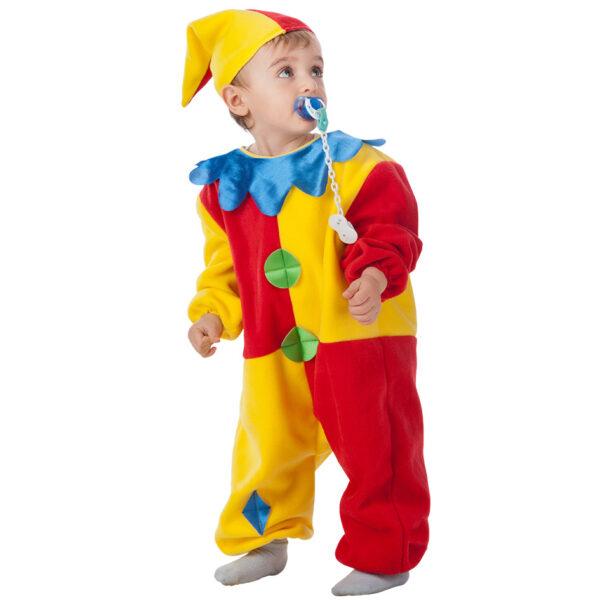 Costume clown baby 1-2 anni ALTRO Unisex 12-36 Mesi, 12+ Anni, 3-5 Anni, 5-8 Anni, 8-12 Anni ALTRI