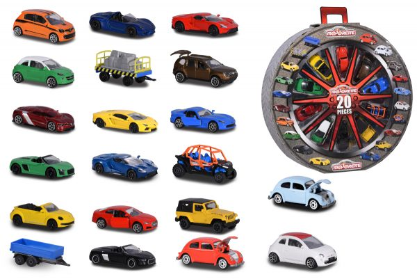 Majorette Giftbox ruota 20 pz - Majorette - Toys Center ALTRI Maschio 12-36 Mesi, 12+ Anni, 3-5 Anni, 5-8 Anni, 8-12 Anni MAJORETTE