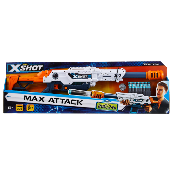 FUCILE X-SHOT MAX ATTACK SUN&SPORT Maschio 12+ Anni, 5-8 Anni, 8-12 Anni ALTRI