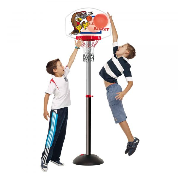 BASKETBALL DA TERRA 112/173 cm - Giocattoli Toys Center - SUN&SPORT - CORRI ALL'AVVENTURA