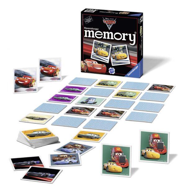 ALTRO CARS memory® - Cars 3 - Altro - Toys Center Unisex 12+ Anni, 3-5 Anni, 5-8 Anni, 8-12 Anni