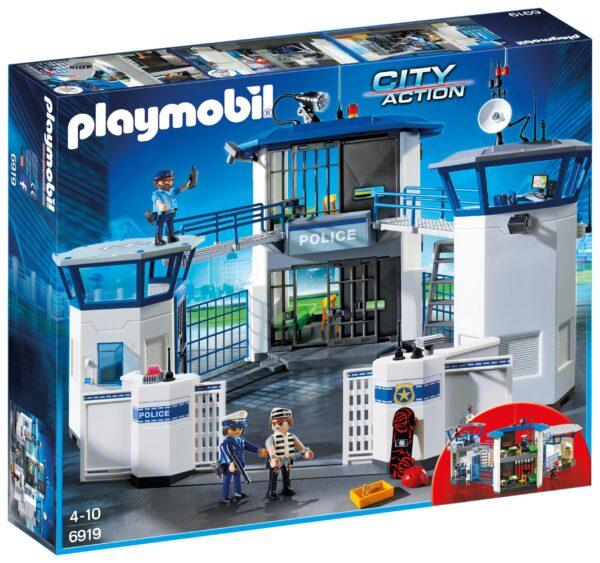 Stazione della polizia con prigione - PLAYMOBIL - CITY ACTION - Fino al -30%