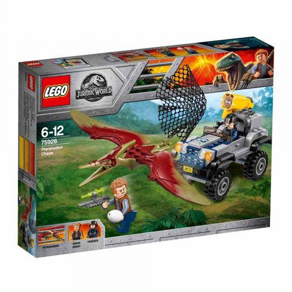 75926 - Inseguimento dello Pteranodonte - LEGO JURASSIC WORLD - LEGO - Marche ALTRO Unisex 12+ Anni, 5-8 Anni, 8-12 Anni JURASSIC WORLD