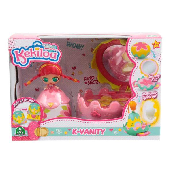 Kekilou Mini Vanity Playset, doll CAMELLIA - Altro - Toys Center - ALTRO - Personaggi collezionabili