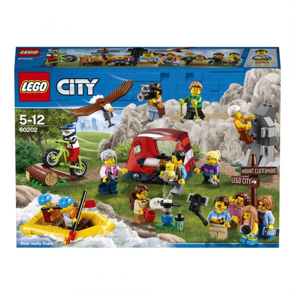 LEGO People Pack - Avventure all'aria aperta - 60202 ALTRI Unisex 12+ Anni, 5-8 Anni, 8-12 Anni LEGO CITY