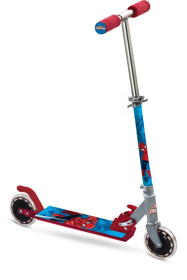 ALU SCOOTER SPIDERMAN Marvel Maschio 12-36 Mesi, 3-4 Anni, 3-5 Anni, 5-7 Anni, 5-8 Anni, 8-12 Anni Spiderman