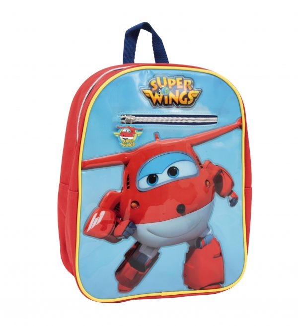 ZAINO ASILO SUPER WINGS - Altro - Toys Center ALTRO Unisex 3-5 Anni, 5-7 Anni, 5-8 Anni, 8-12 Anni Super Wings