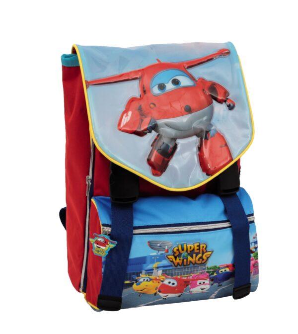 Super Wings - Zaino estensibile con gadget - Altro - Toys Center - ALTRO