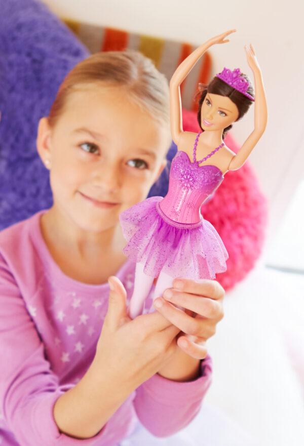 Barbie ALTRI Barbie Fairytale - Bambola Ballerina, Abito Rosa, Bionda Femmina 12-36 Mesi, 12+ Anni, 8-12 Anni