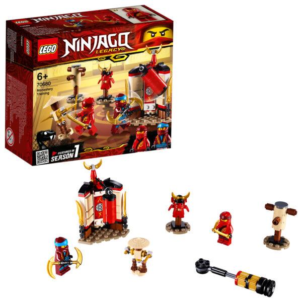 70680 - Addestramento al monastero - Lego Ninjago - Toys Center LEGO NINJAGO Unisex 12+ Anni, 5-8 Anni, 8-12 Anni ALTRI
