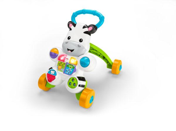 Zebra primi passi - Fisher-price - Toys Center FISHER-PRICE Unisex 0-12 Mesi, 0-2 Anni, 12-36 Mesi, 3-4 Anni, 3-5 Anni ALTRI
