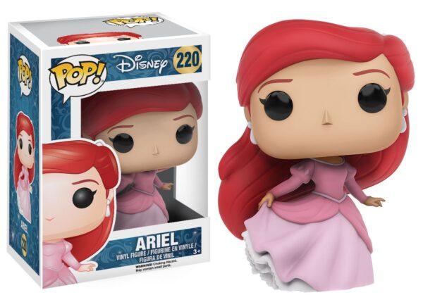POP Disney: The Little Mermaid - Ariel Disney Unisex 12-36 Mesi, 12+ Anni, 3-5 Anni, 5-8 Anni, 8-12 Anni PRINCIPESSE DISNEY