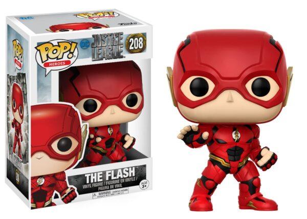 POP Movies: DC - Justice League - Flash DC COMICS Unisex 12-36 Mesi, 12+ Anni, 3-5 Anni, 5-8 Anni, 8-12 Anni JUSTICE LEAGUE