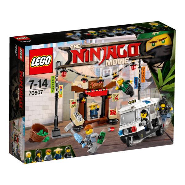 70607 - Inseguimento a NINJAGO® City - Lego Ninjago - Toys Center LEGO NINJAGO Maschio 12+ Anni, 5-8 Anni, 8-12 Anni ALTRI